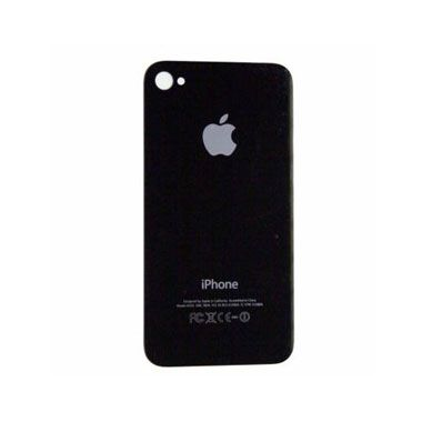 iPhone 4 Back Cover Glass Black