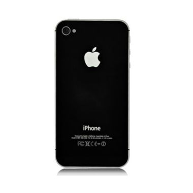 iPhone 4S Back Cover Glass Black