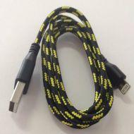 iPhone 5 - 6 Faser USB Kabel Datenkabel