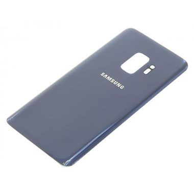 Samsung Galaxy S9 Back Glas Cover Akku Deckel Blau