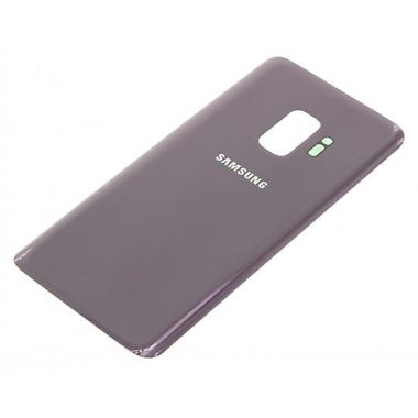 Samsung Galaxy S9 Plus Back Glas Cover Akku Deckel Lila