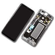 Samsung S9 Plus Display Schwarz Silber Reparatur