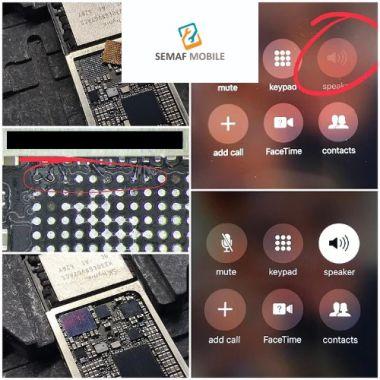 iPhone 6 Lautsprecher Hörmuschel Mikrofon Audio Problem