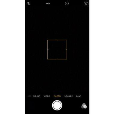 iPhone X Kamera Fehler